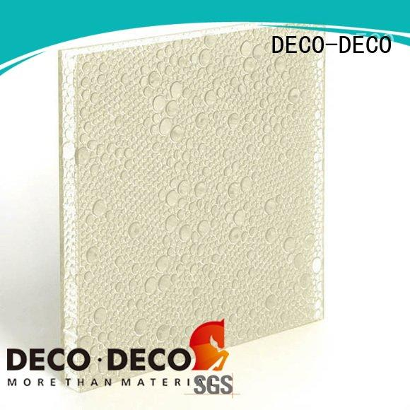 polyester acoustic panels indigo root polyester resin panels DECO-DECO Warranty