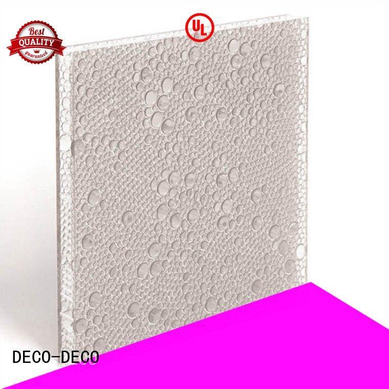DECO-DECO Brand cherry marigold sea polyester acoustic panels