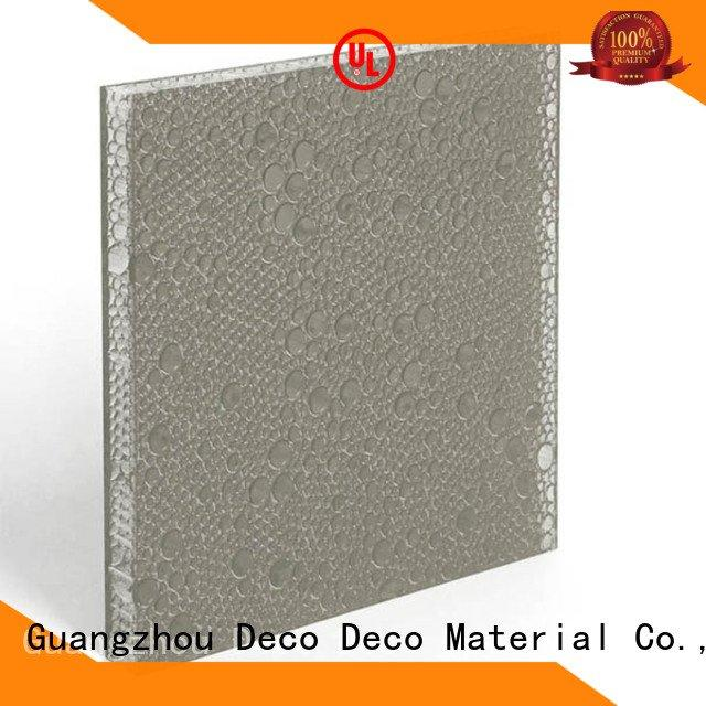 DECO-DECO polyester resin panels root ghost ash sable