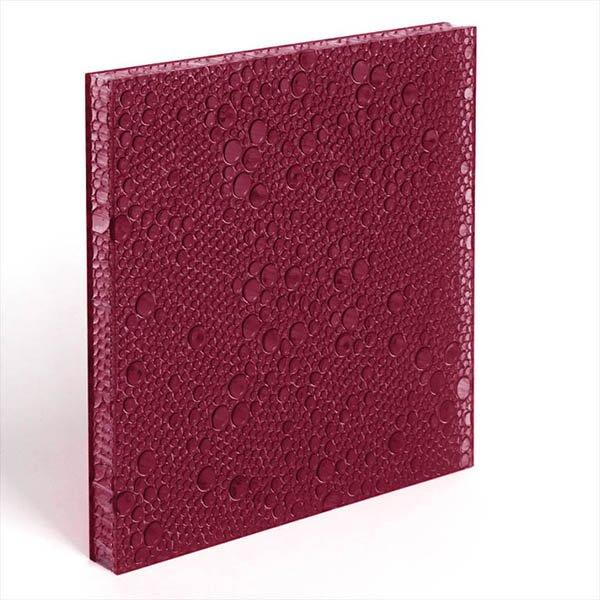 translucent resin panel Black cherry