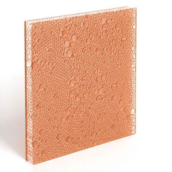 translucent resin panel Blush