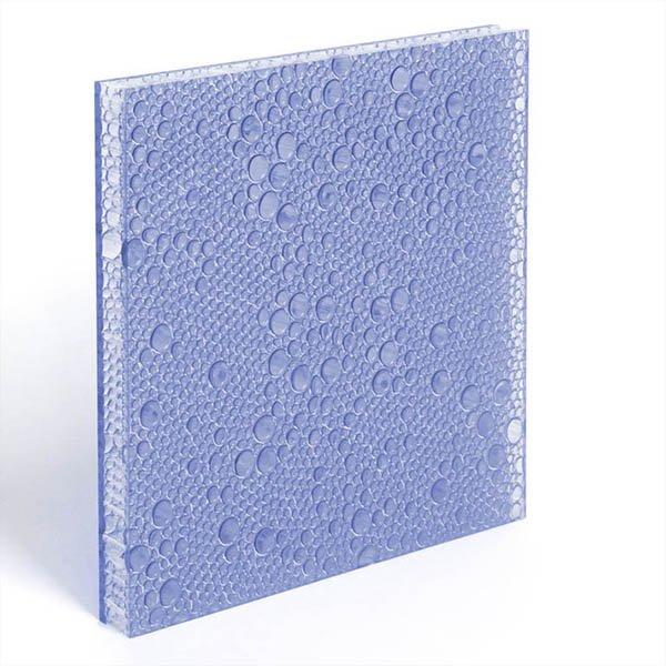 translucent resin panel Indigo