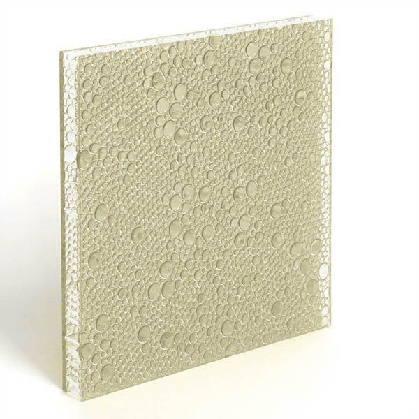 translucent resin panel Ivory