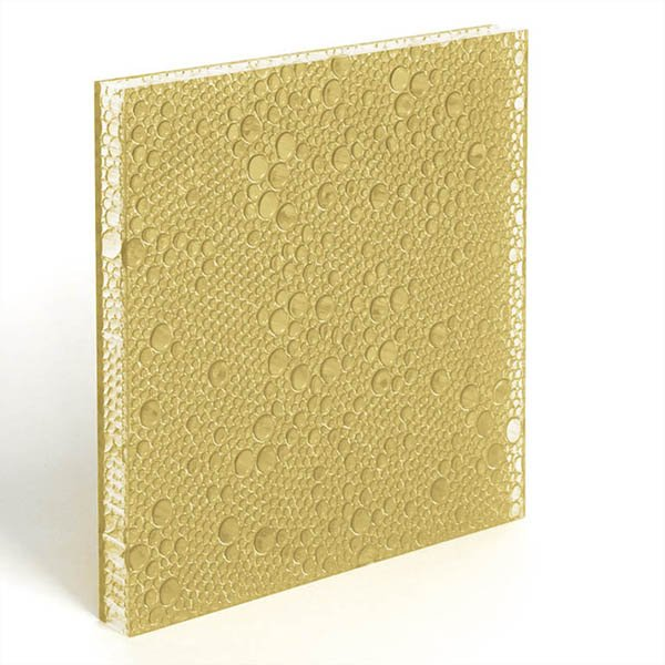 DECO-DECO translucent resin panel Khaki Polyester Resin Panels image28