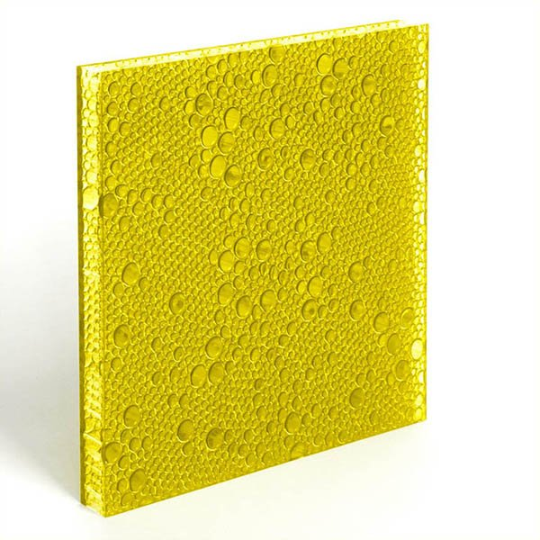 DECO-DECO translucent resin panel Marigold Polyester Resin Panels image31