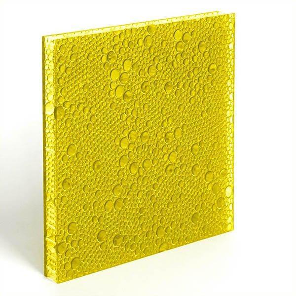 translucent resin panel Marigold