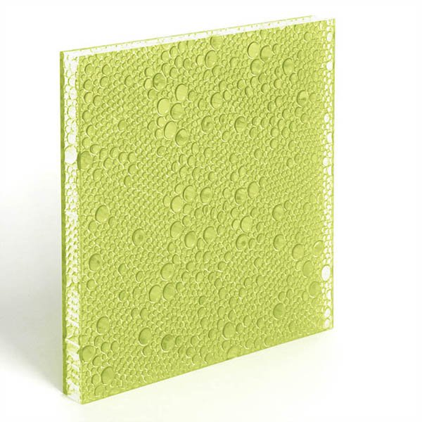 DECO-DECO translucent resin panel Moss Polyester Resin Panels image23