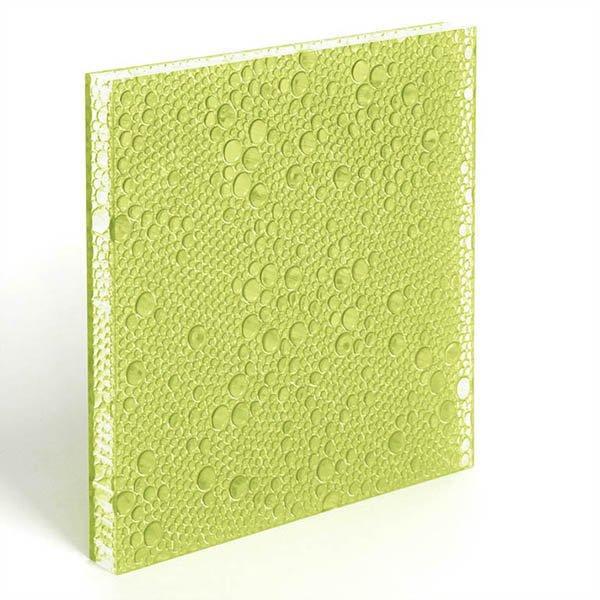 translucent resin panel Moss