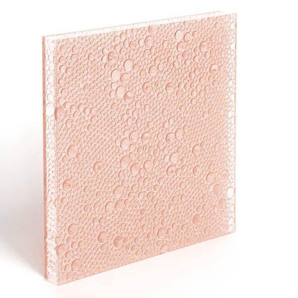 translucent resin panel Powder Puff