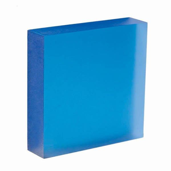translucent acrylic panel Cobalt
