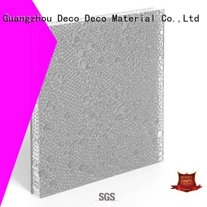 thunder curry DECO-DECO polyester resin panels