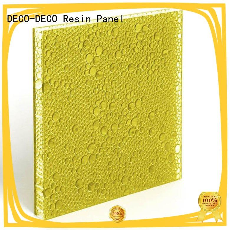 DECO-DECO translucent polyester panels factory direct supply for LED lighting