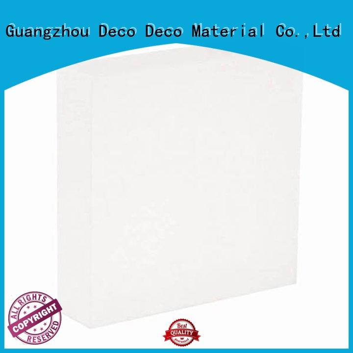 DECO-DECO creative translucent resin panels manufacturer for shopping mall