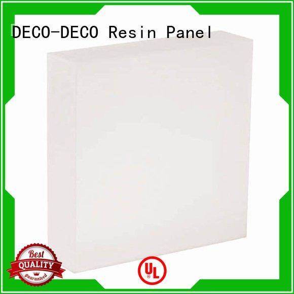 Custom translucent panels midnight lawn vapor DECO-DECO
