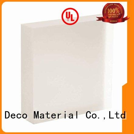DECO-DECO translucent panels acrylic reflect root moss