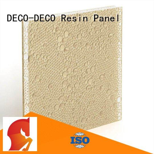 DECO-DECO bliss bewitched polyester resin panels end vapor