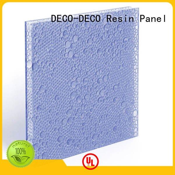 OEM polyester acoustic panels bark pewter cranberry polyester resin panels