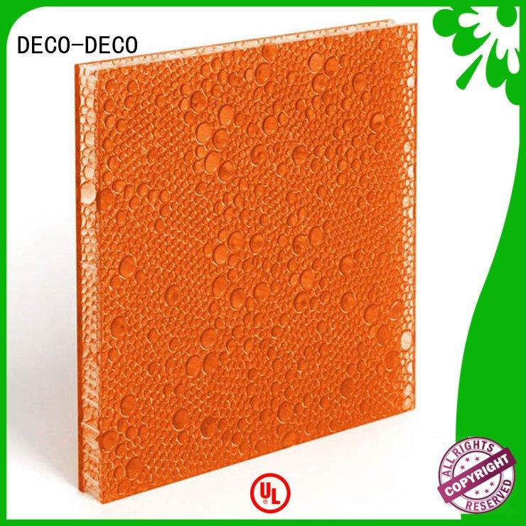 marsh marigold atlantic DECO-DECO polyester resin panels