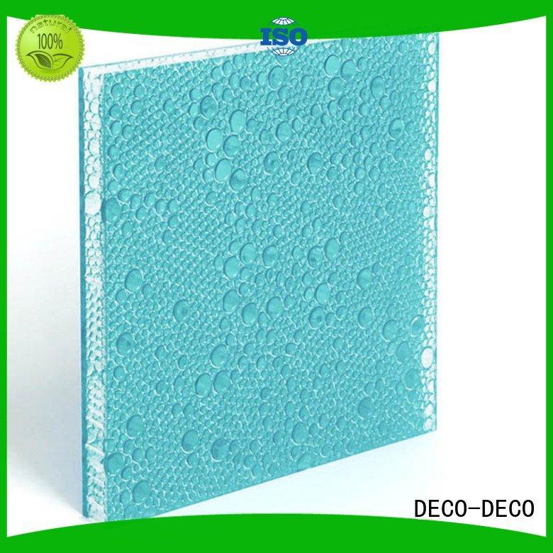 Wholesale pop monsoon polyester resin panels DECO-DECO Brand