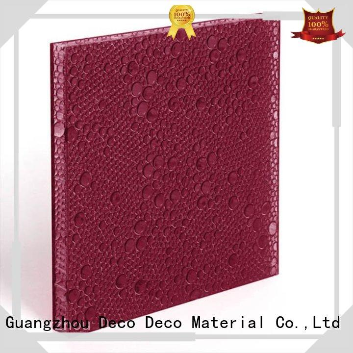 attractive polyester resin products ivory wholesale for shopping mall