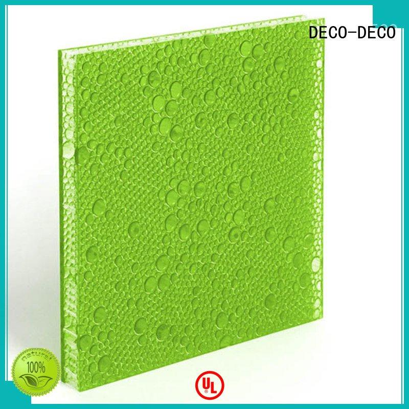 sea puff midnight aloe DECO-DECO polyester resin panels