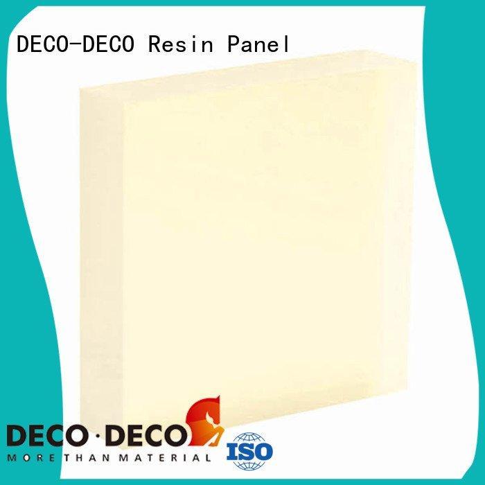 acrylic pewter camel translucent panels DECO-DECO
