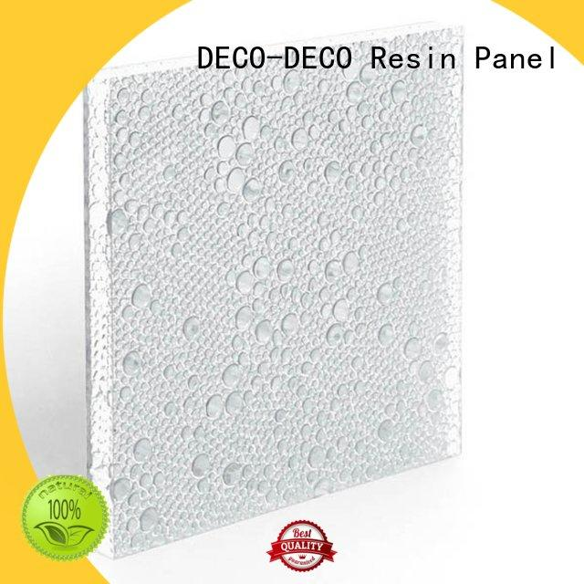pvc resin suppliers translucent for shopping mall DECO-DECO