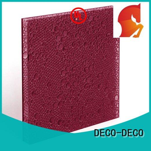 Quality polyester acoustic panels DECO-DECO Brand titanium polyester resin panels