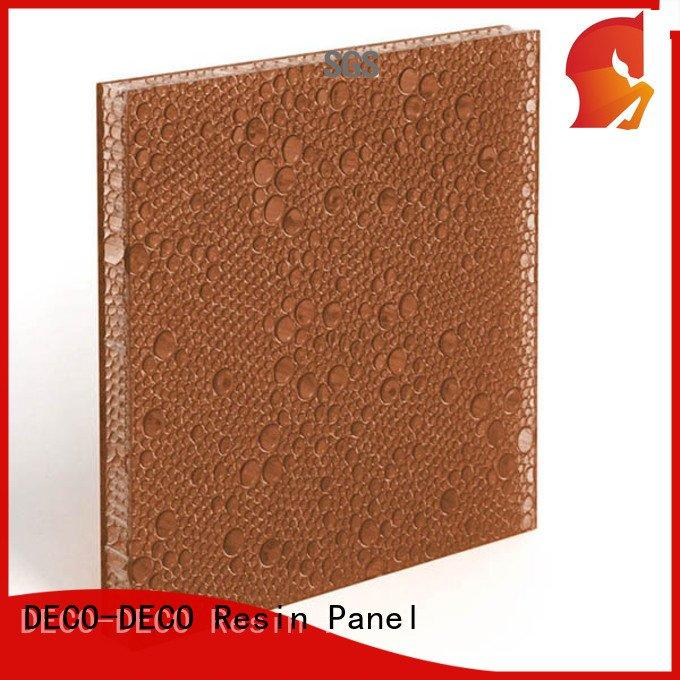polyester acoustic panels cranberry black resin blush DECO-DECO