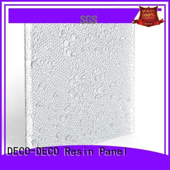 DECO-DECO Brand pop oj polyester resin panels reef sea