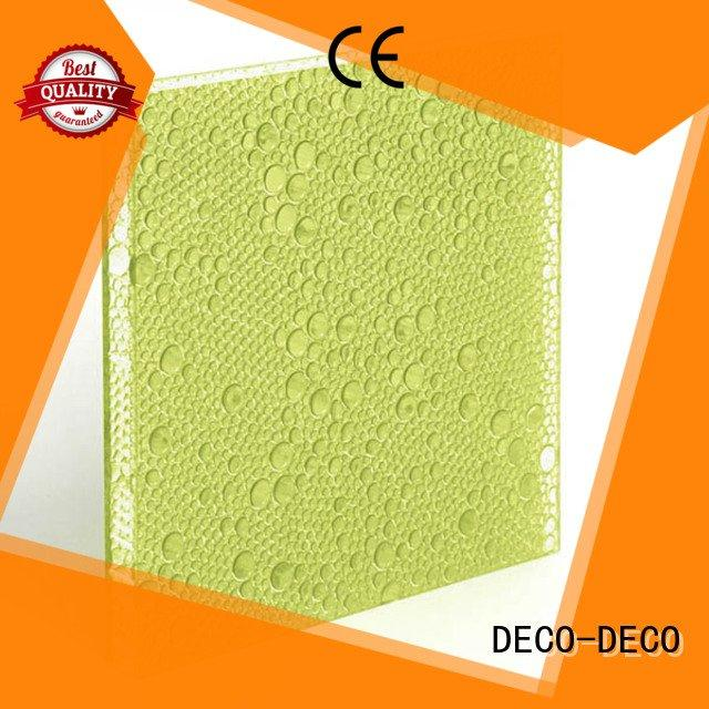 DECO-DECO Brand marigold oat polyester resin panels ivory reef