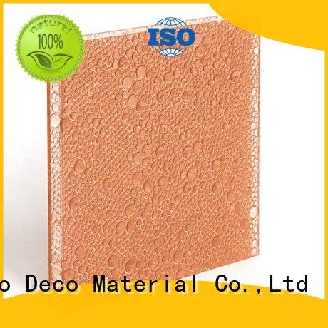 curry lawn polyester resin panels marigold DECO-DECO