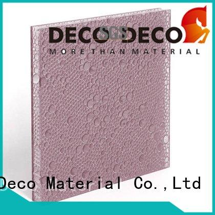 polyester acoustic panels pop end DECO-DECO Brand