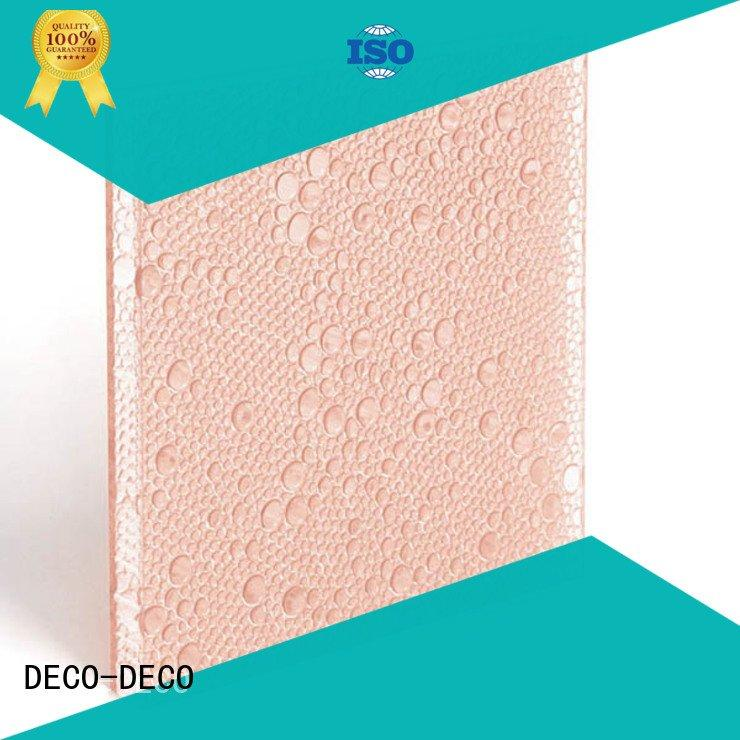 powder root DECO-DECO polyester acoustic panels