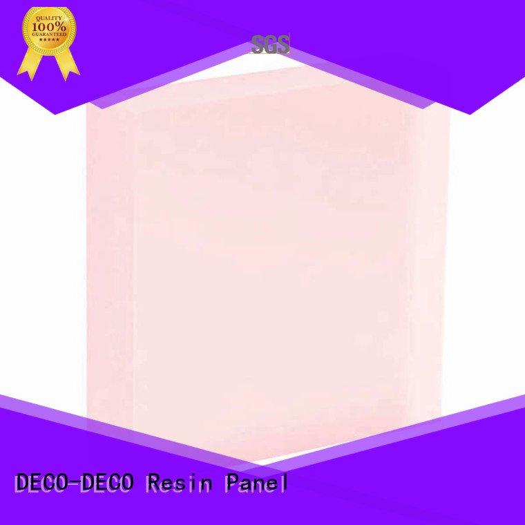 DECO-DECO eggplant translucent panels camel acrylic