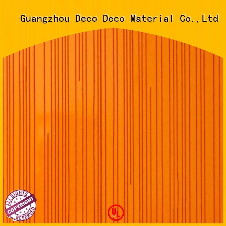 PETG Panels wave nappa PETG Panels DECO-DECO Warranty