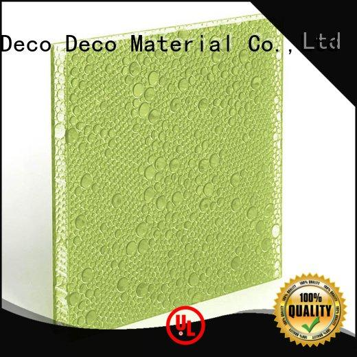 puff polyester resin panels DECO-DECO polyester acoustic panels