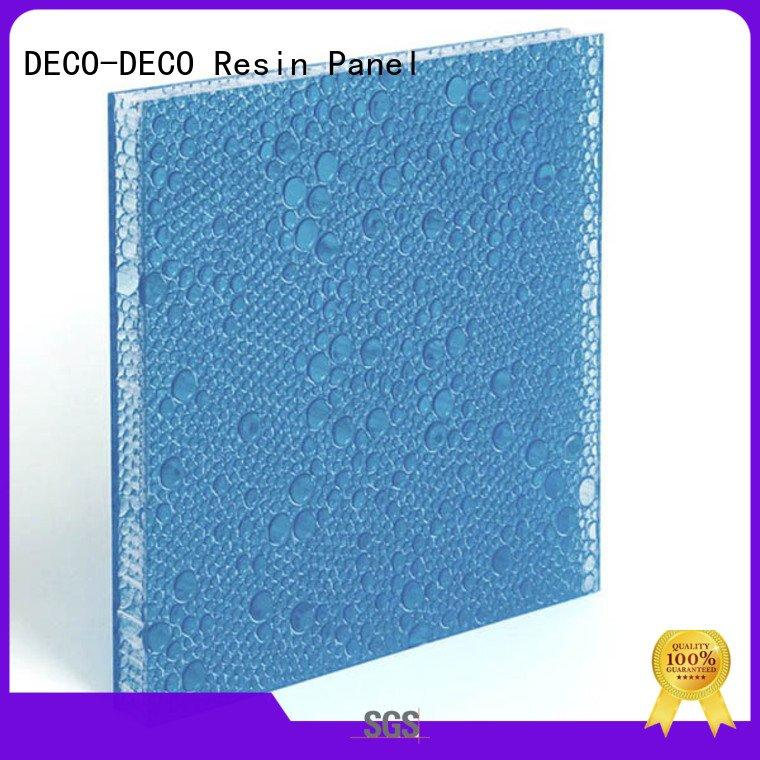 cherry polyester resin panels DECO-DECO polyester acoustic panels