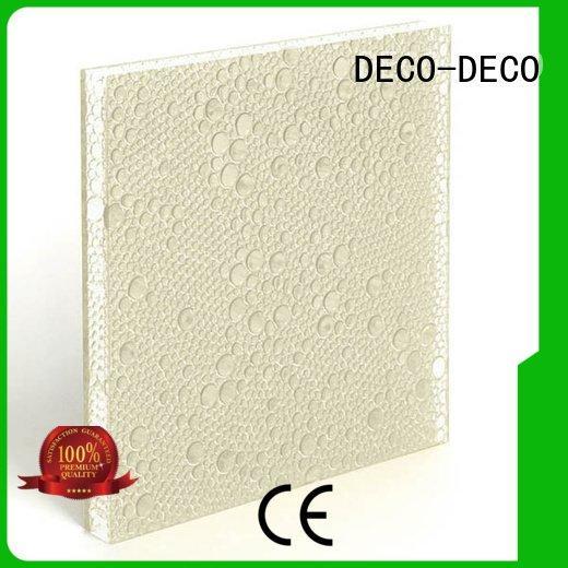 oj cranberry polyester resin panels pond DECO-DECO