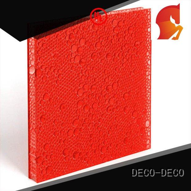 curry end oat clear DECO-DECO polyester acoustic panels