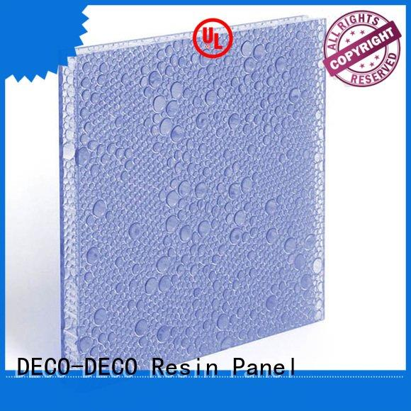 DECO-DECO polyester acoustic panels bewitched puff vapor translucent