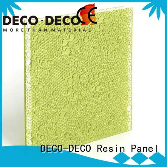 polyester acoustic panels pop panel polyester resin panels DECO-DECO Brand