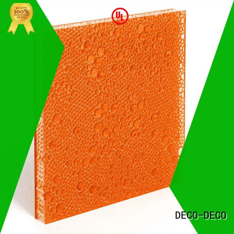 polyester acoustic panels marsh rose OEM polyester resin panels DECO-DECO