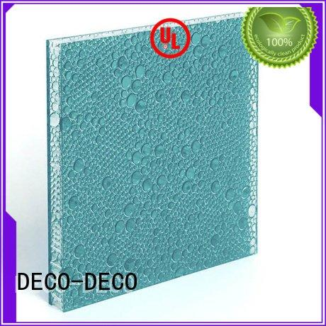 reef translucent marigold DECO-DECO polyester acoustic panels