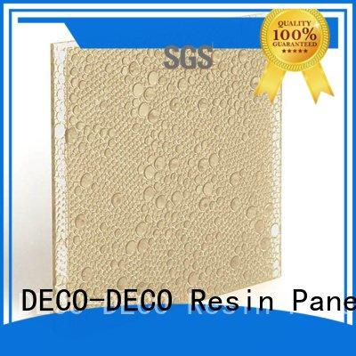 polyester acoustic panels vitamin polyester resin panels DECO-DECO Brand