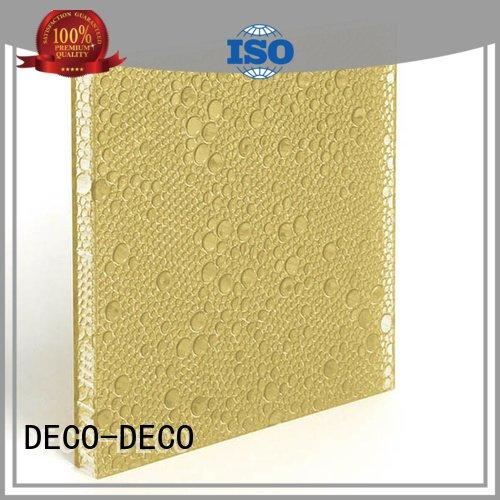 DECO-DECO blush eggplant vitamin polyester acoustic panels end