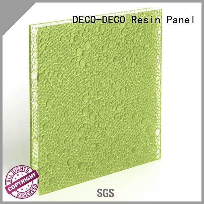 DECO-DECO Brand surf eggplant polyester resin panels cranberry black