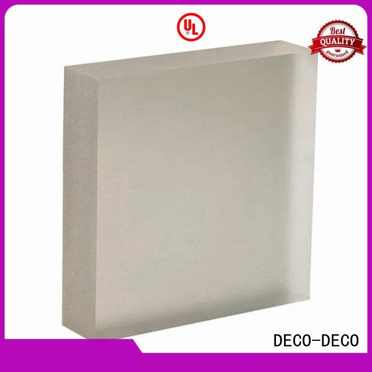 DECO-DECO Brand khaki translucent translucent panels pond reflect