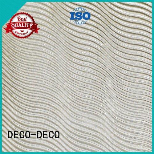 DECO-DECO Brand rock flowing PETG Panels glacier textured