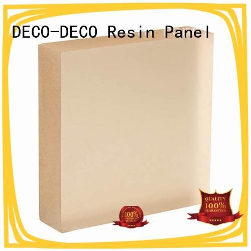 DECO-DECO energy saving translucent interior wall panels organic material for restaurant